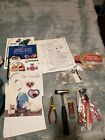 Lot of Stained Glass pattern books misc tools cam  copper foil