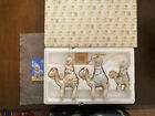 PRECIOUS MOMENTS 108243 MINI NATIVITY THEY FOLLOWED THE STAR KINGS ON CAMELS NEW