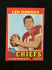 Len Dawson Cards, Rookie Card and Autographed Memorabilia Guide 12