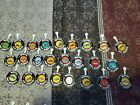 25 Vintage Red Line Hot Wheels Metal Button Badge Pins