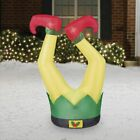 Christmas Elf Legs Airblown Inflatable 35 ft Party Yard Greeter Decoration