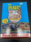 Topps Desert Storm Trading Cards and Stickers New in Box