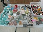HUGE LOT OF BEADS 4 JEWELRY MAKING STONE GLASS ACRYLIC CORAL SHELL 11 LBS +