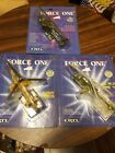 Lot Of 3 Ertl Force One Diecast Helicopters AH 64 ApacheKamiv HokumMi 24 Hind