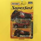 Matchbox Superfast 2005 51 LAND ROVER DISCOVERY metallic red