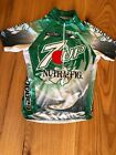 Vintage Cannondale 7UP Nutra Fig Cycling Jersey Size Adult M