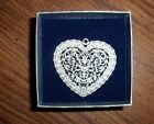 Vintage Opelle By Corning Heart Ornament