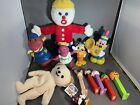 vintage to now toy lot- Pez - Barney - Mr.bill - Mickey Mouse - Snuggle Bear L3