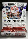 Lot of 6 2020-21 Panini NFL Sticker Collection Albums + 36 Stickers + Box