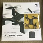 Sharper Image Rechargeable DX 2 Stunt Drone 150 Ft Range 6 Axis Gyroscopic Tec