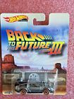 2019 Hot Wheels Back To The Future 1955 MM Silver FLD25 HW449