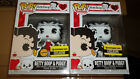 Funko Pop Exclusive Betty Boop & Pudgy Chase & Reg Figure Set w protect
