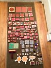 Huge Rubber Stamp LOT 110 Wood Rubber Stamps Mixed Brands Themes MOST ARE NEW