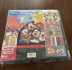 Disney Mickey Mouse  Friends Scrapbook Album And Organizer Kit 350+ Pieces NEW