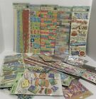 Jolees K  Company VACATION Travel Tropical Stickers Lot of 23