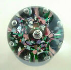 Peter Holmes Harlequin Paperweight Multi Coloured Art Glass