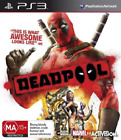 Marvel Dead Pool Deadpool Sony PS3 Playstation 3 RPG Action Adventure Rare Game