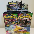 10 VIVID VOLTAGE Booster Pack Lot Factory Sealed Packs From Box Pokemon Cards