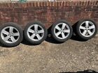 """VW Golf MK7 16"""" Silver alloys and Tyres"""