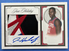 2009-10 National Treasures JRUE HOLIDAY Auto Rookie RC Patch Jersey 99
