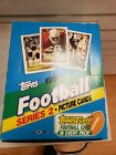 1992 TOPPS FOOTBALL SERIES 2 WAX BOX rack unsearched