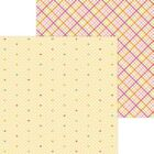 Doodlebug Cute  Crafty Double Sided Cardstock 12X12 Love This
