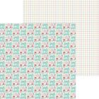 Doodlebug Cute  Crafty Double Sided Cardstock 12X12 Sew Cute