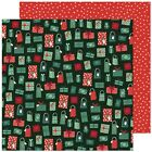 American Crafts Busy Sidewalks Double Sided Cardstock 12X12 Holiday Style