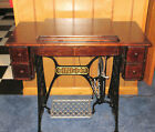 Singer Treadle Sewing machine w cabinet early 1900