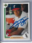Frank Thomas Rookie Cards and Autograph Memorabilia Guide 50