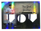 2009 Topps Tribute Alex Rodriguez triple jersey patch relic card 89 99 Yankees