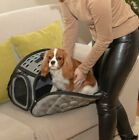 Foldable Pet Dog Cat Carrier Puppy Collapsible Travel Bag - medium & small pets