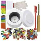 Microwave Kiln and DIY Fusing Glass Jewelry Set Professional Simple Making