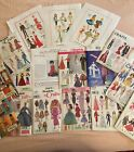 Vintage Barbie Doll Clothes Sewing Patterns Lot of 17 Simplicity McCalls