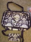 Thirty One Perfect Party Set Vintage Damask Purp Made With Love Embroider NEW