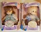 Lot of 2 Precious Moments Love Goes on Forever My first Baby Dolls 1995 NRFB