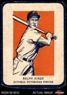 Ralph Kiner Baseball Cards and Autographed Memorabilia Guide 7
