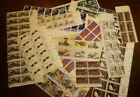 200 two hundred 8 cent stamps in plate blocks Free Shipping