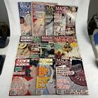 LOT OF 11 VINTAGE Magic Crochet Magazines 1984 1987  Doilies Crafts Rugs