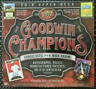 2018 Upper Deck Goodwin Champions Hobby Box **Free Priority Shipping**