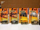 Matchbox Lot Cadillac Hearse Ford Crown Victoria DHL Dodge Magnum Police