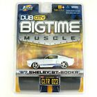 Jada Dub City Bigtime Muscle 1967 67 Shelby GT 500KR White Diecast Car 1 64