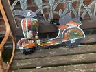 Wooden MIrrored Mosaic Vespa Scooter Bike Wall Hanging Plaque