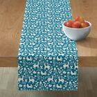 Table Runner Native American Mexican Otomi Cotton Sateen