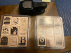 Stampin Up TOO TERRIFIC TAGS and TAGS SO MUCH 18 stamps  TAG Whale Tail Punch
