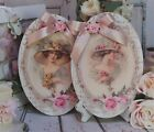 Shabby Chic Vintage Country Cottage style Wall Table Decor Sign Victorian Women