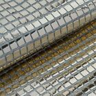 35 inch x 10 yards Shiny Mirror Foil on Tulle Fabric Bolt Sewing Craft Bridal