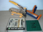 Crop A Dile II Eyelet And Snap Punch Fiskars Crimper Tool kit Crafters Lot