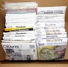 BOX LOT UNCUT CRAFT SEWING PATTERNS Holiday Dolls Clothes Toys Home Decor Bags++