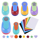 Craft Scrapbook Paper Puncher Set Includes 1 Inch Shapes Hole Punches Star